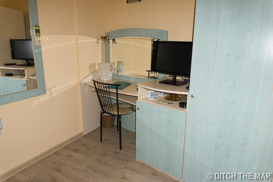 Our room in Varna, Bulgaria