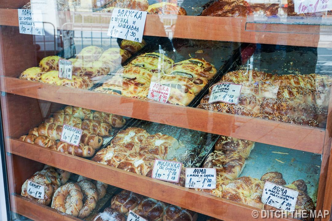 Bulgarian Pastries