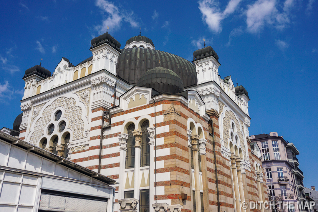 The Sofia Synagogue in Sofia, Bulgaria