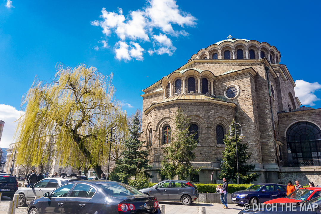 Sveta Nedelya Orthodox Church in Sofia, Bulgaria