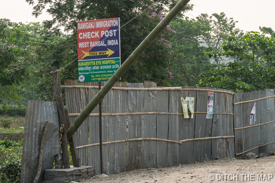 Finding where to stamp into India
