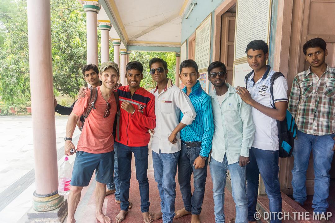 More Selfies in Sarnath, India