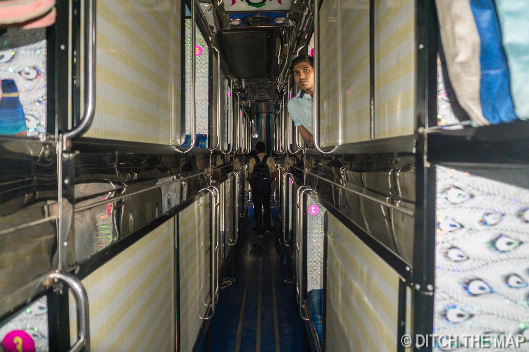 Overnight Bus to Mumbai, India