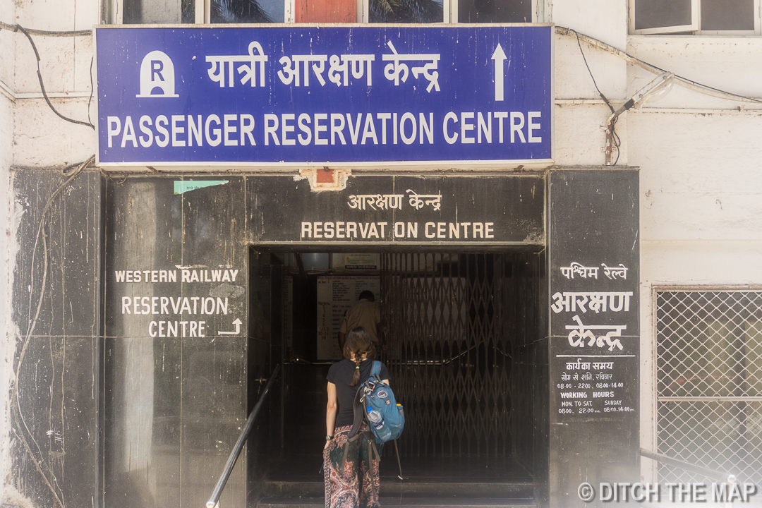 Going to Tourist Booking Office in Mumbai, India