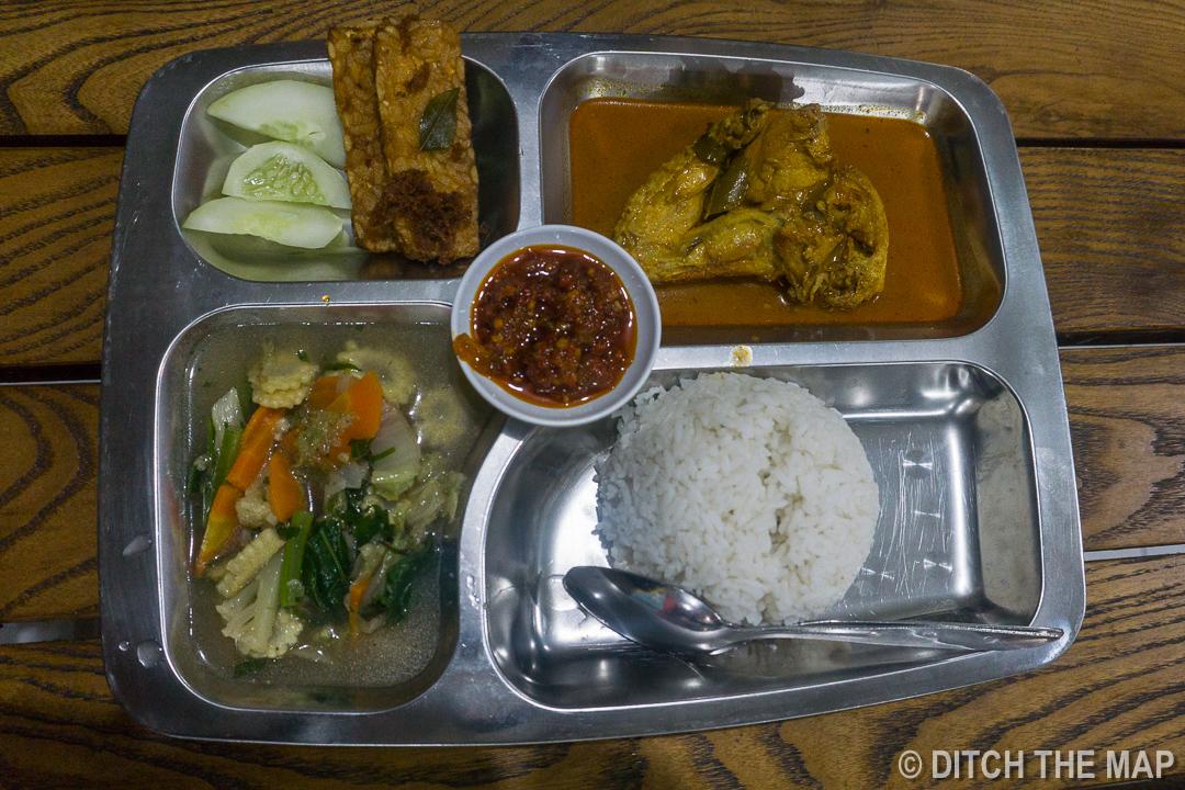Dinner in Yogyakarta, Indonesia
