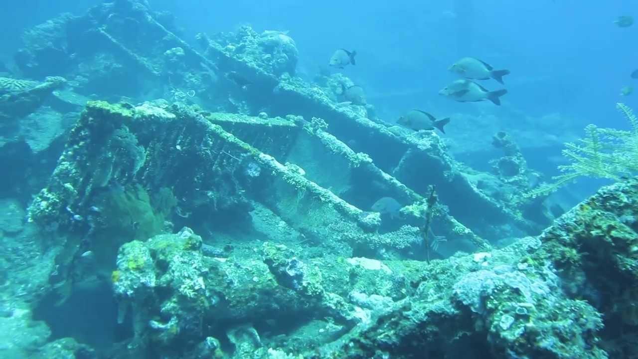 Liberty Wreck of the Coast of Tulamben, Bali
