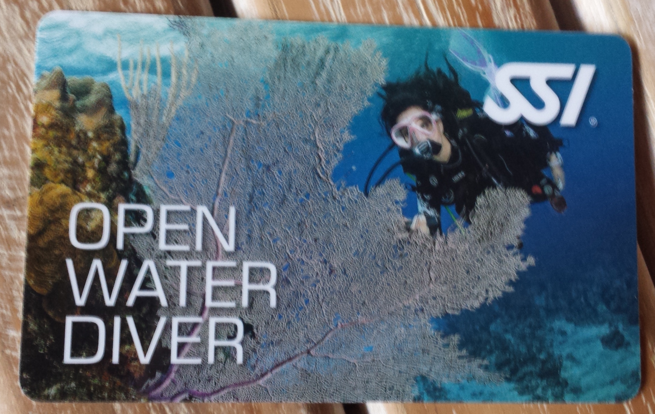 My SSI Open Water Diver Certification