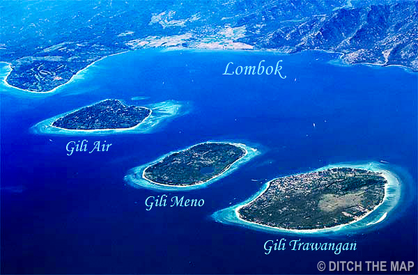 Gili Islands and Lombok - World's Largest Thought Bubble