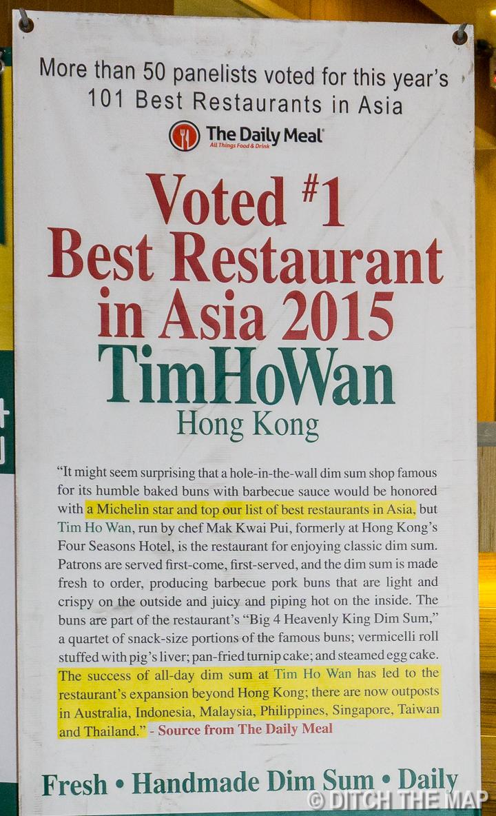 Enjoying Dim Sum at the World's Cheapest Michelin Star Restaurant in Malacca, Malaysia