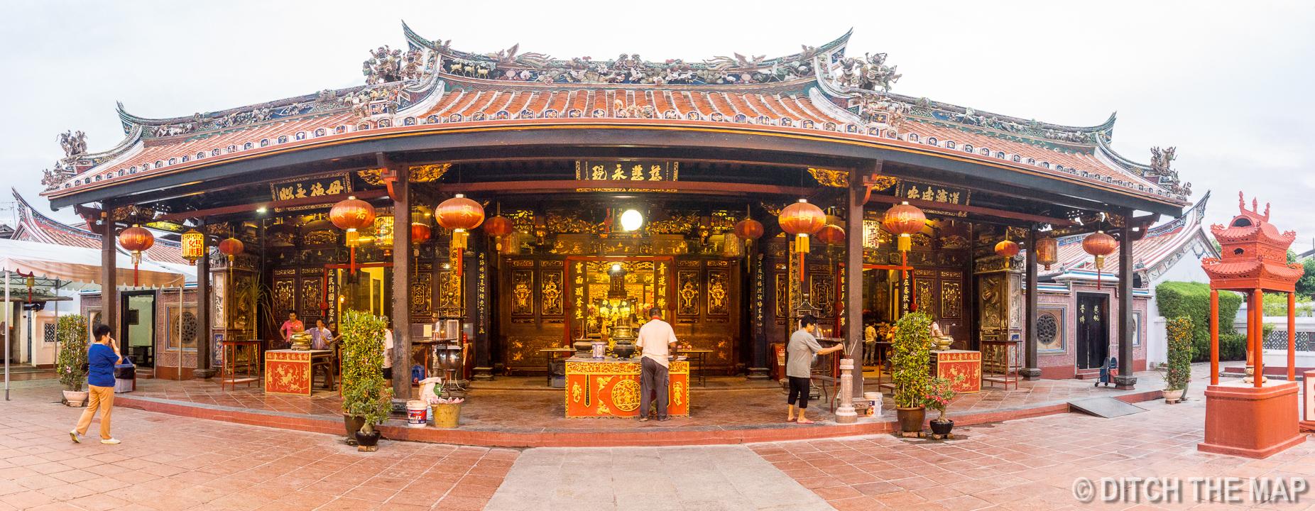 Cheng Hoon Teng Temple Malacca's Chinatown, Malaysia