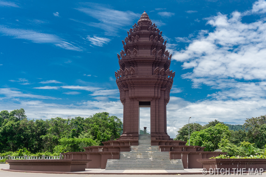 Independence Monument Kep, Cambodia