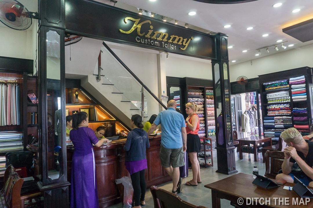 Kimmy Tailors in Hoi An, Vietnam
