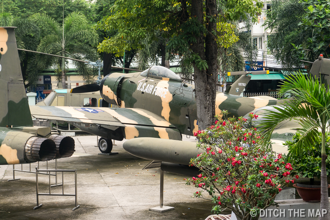 War of Remembrance in Ho Chi Minh City, Vietnam