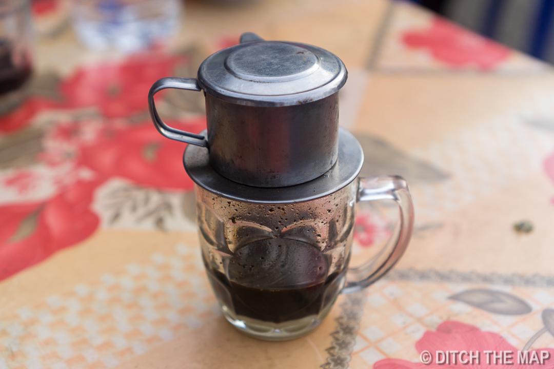 Vietnamese Coffee in Sapa, Vietnam