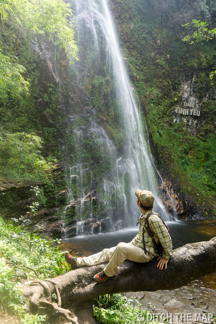Love Waterfall in Sapa, Vietnam