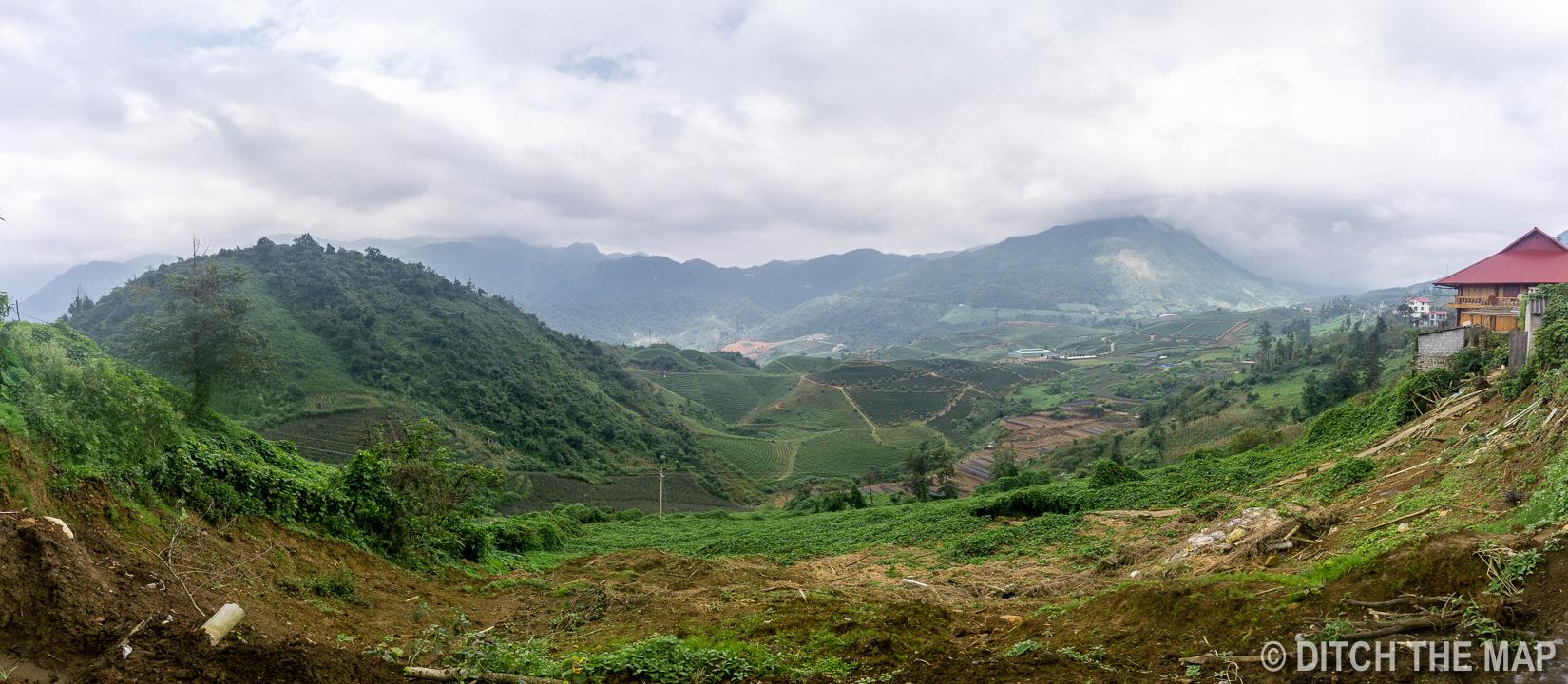 View of Sapa, Vietnam