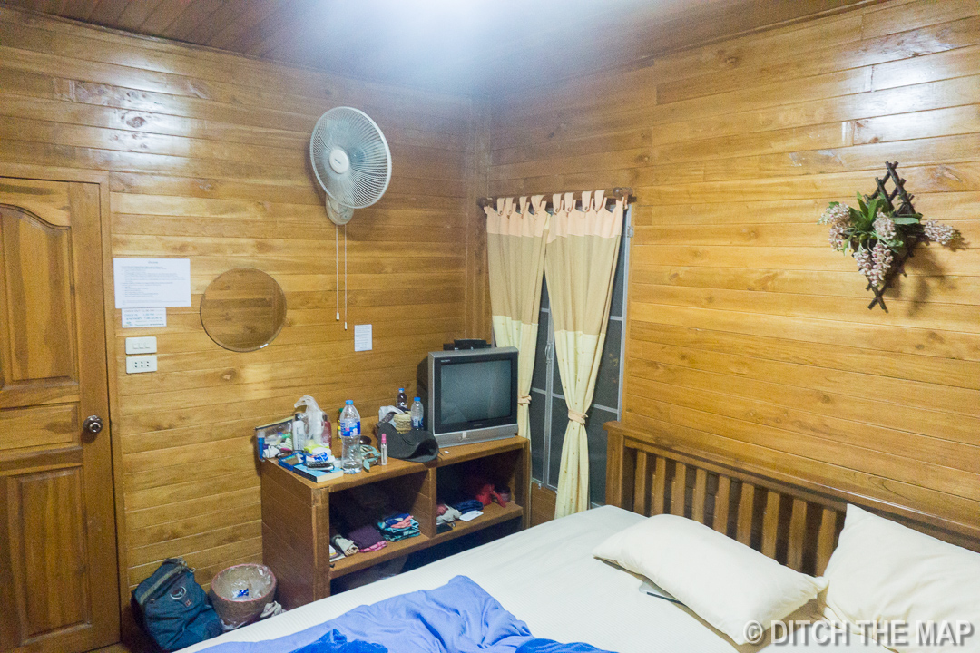 Our Room at Xhale Yoga Retreat, Pai, Thailand