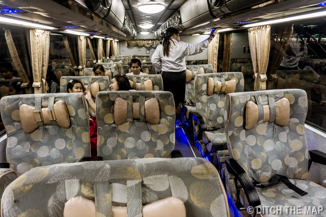 VIP Bus Direct from Bangkok to Khao Lak, Thailand