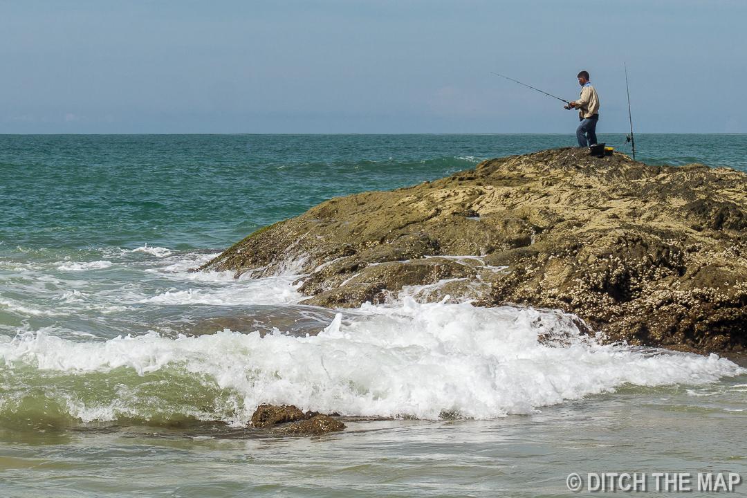 Local Fisherman at the Beach in Khao Lak, Thailand