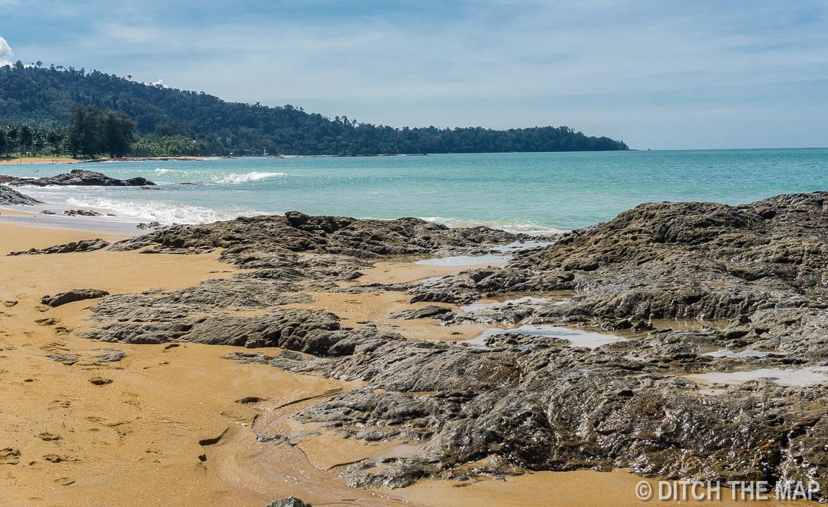 Beach in Khao Lak, Thailand