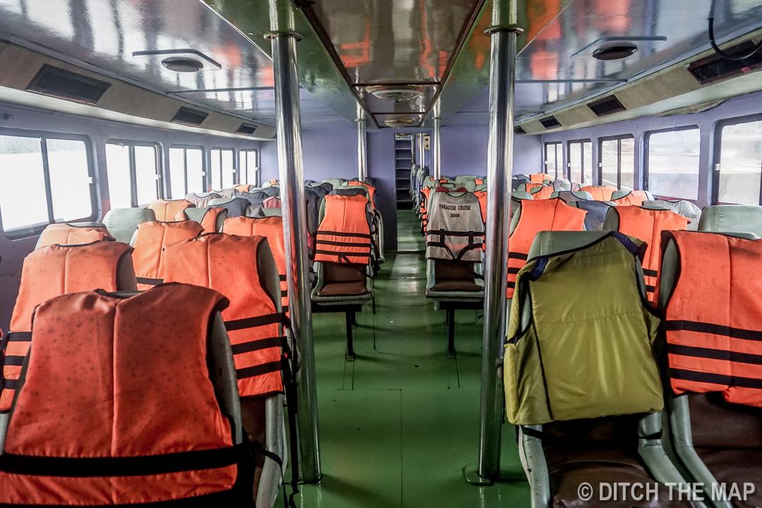 Taking a Ferry to Ko Lanta, Thailand