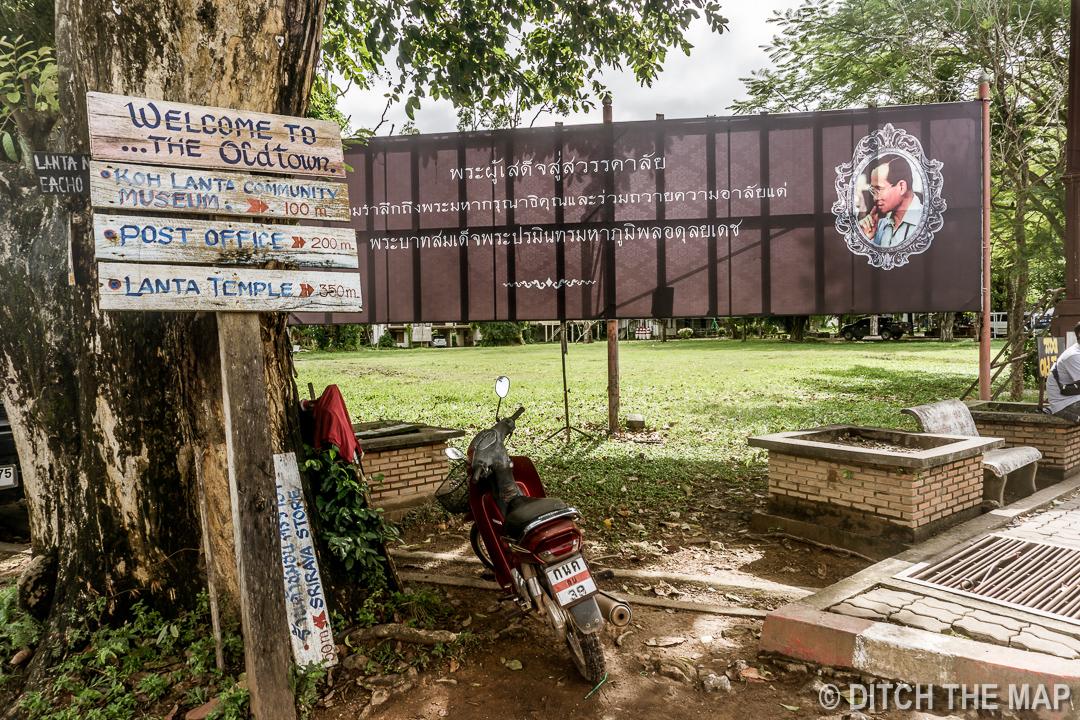 Old Town in Kp Lanta, Thailand