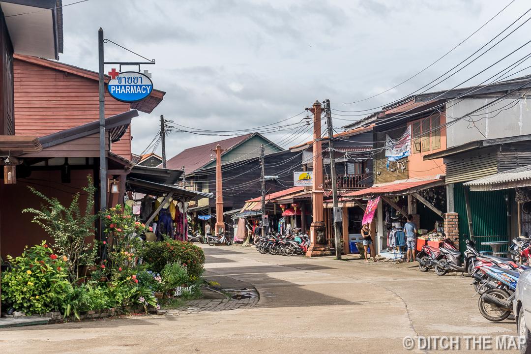 Old Town in Ko Lanta, Thailand