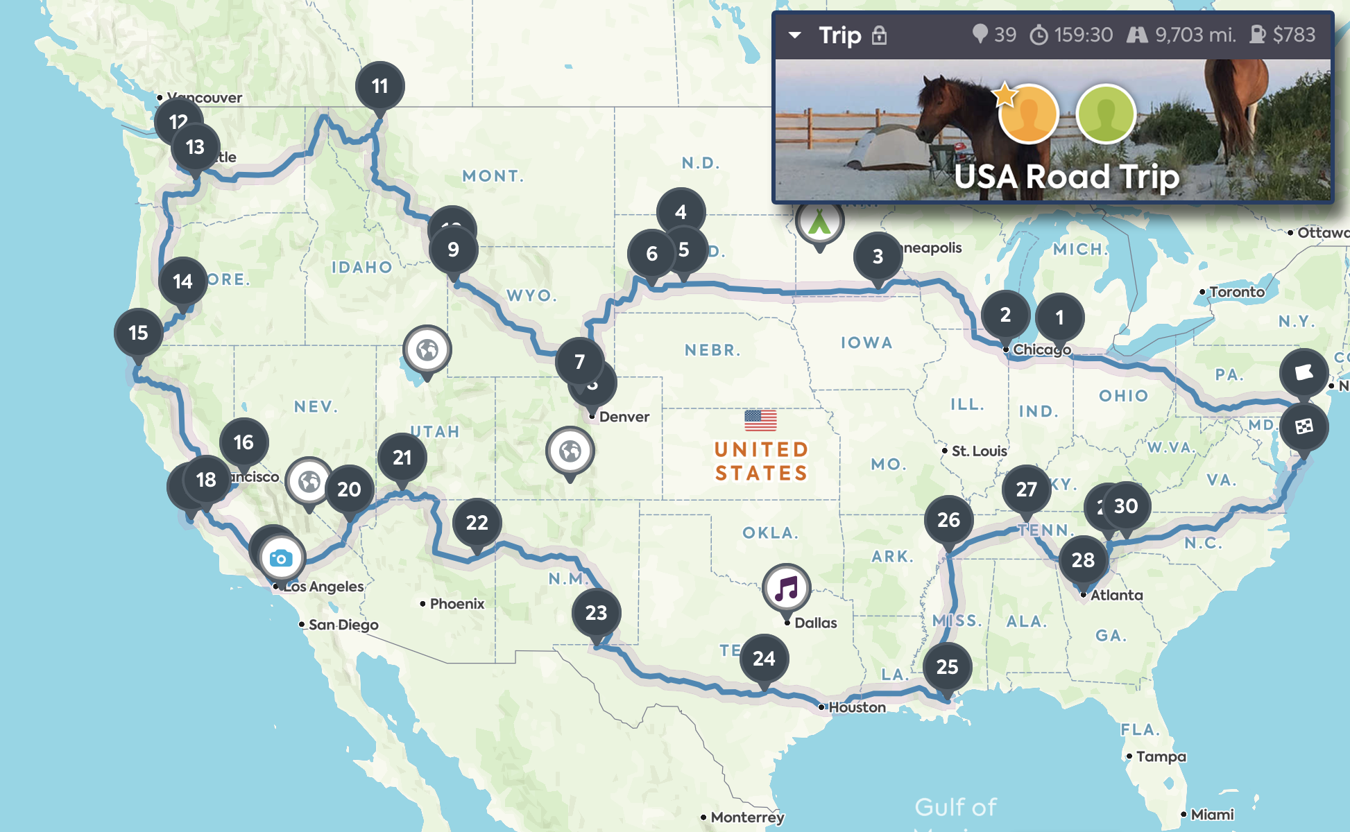 Plan A Road Trip >> Planning For A Cross Country Usa Road Trip Travel Blog And World