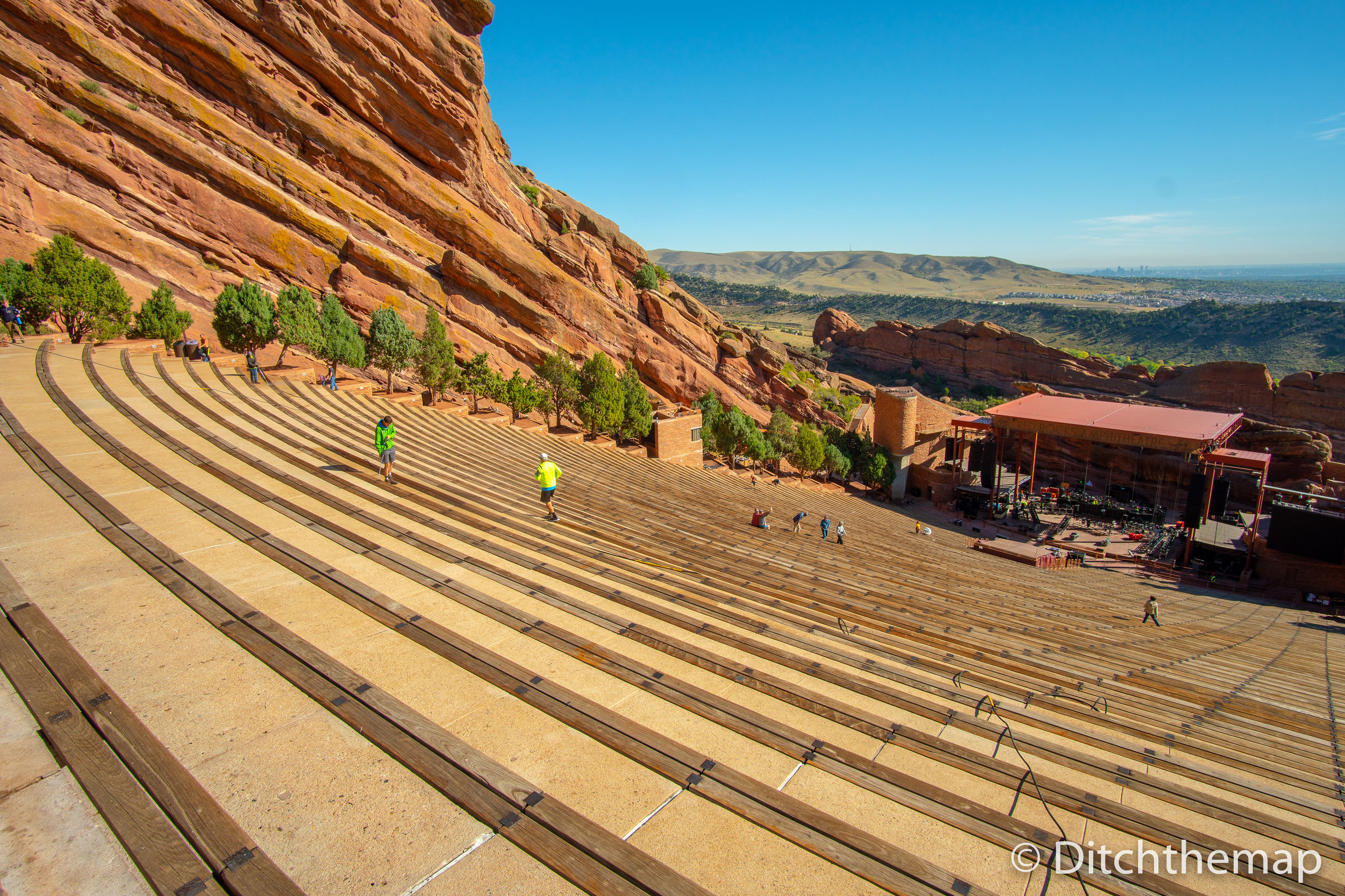 Red Rocks Amphitheatre  in Denver, Colorado