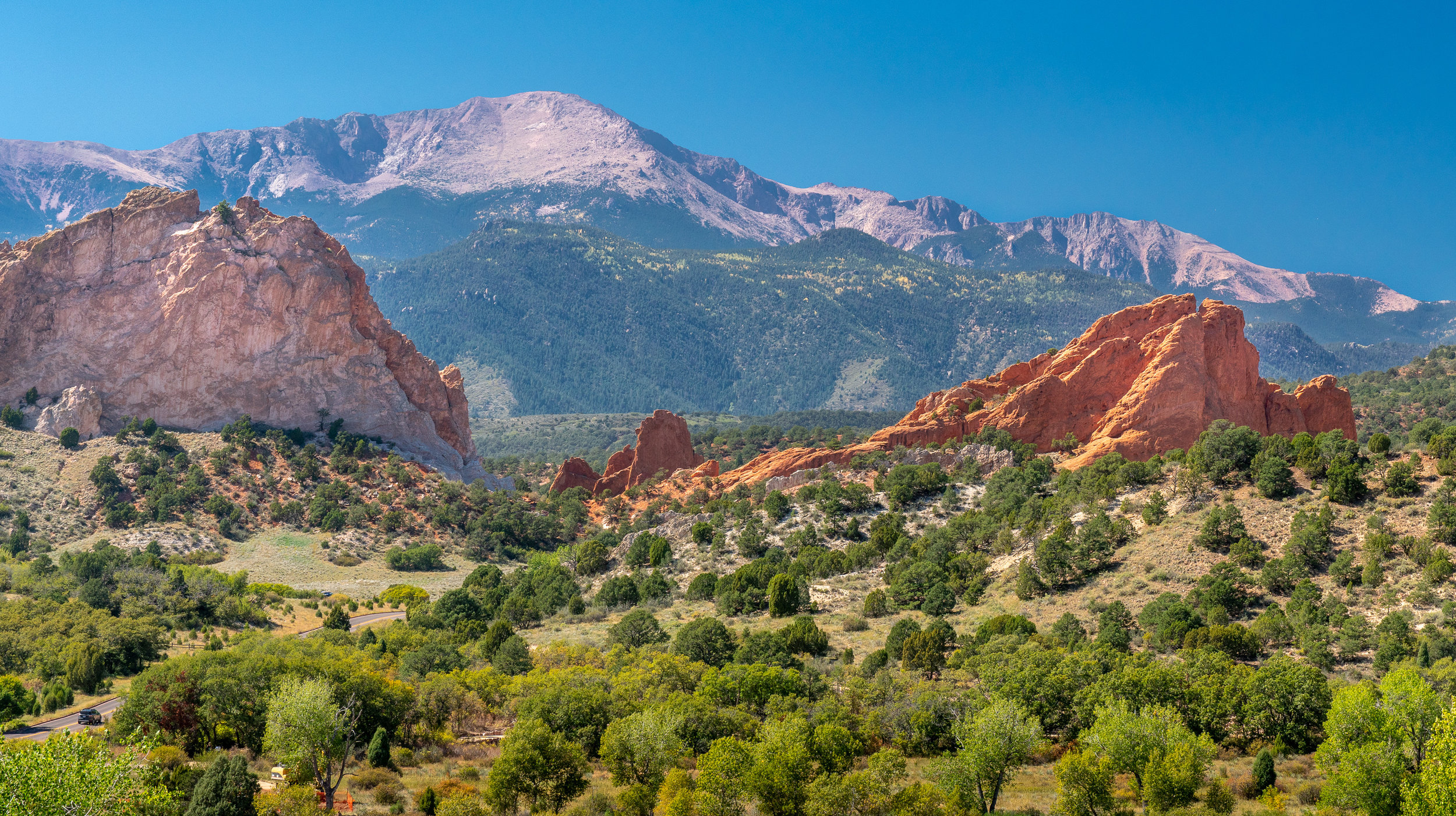 Garden of the Gods, 1.5 hours south of Denver, Colorado
