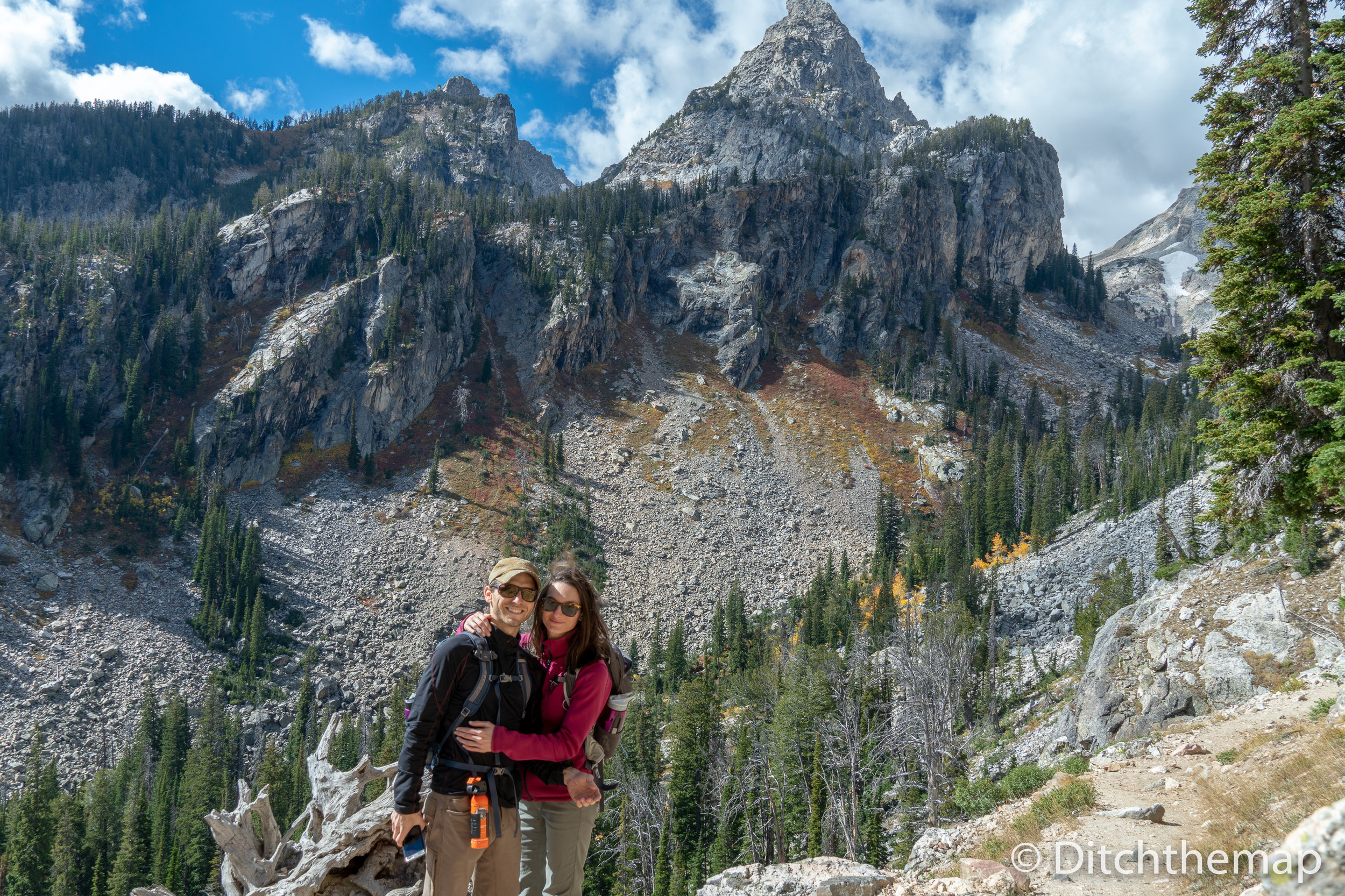 The Grand Tetons National Park in Wyoming USA