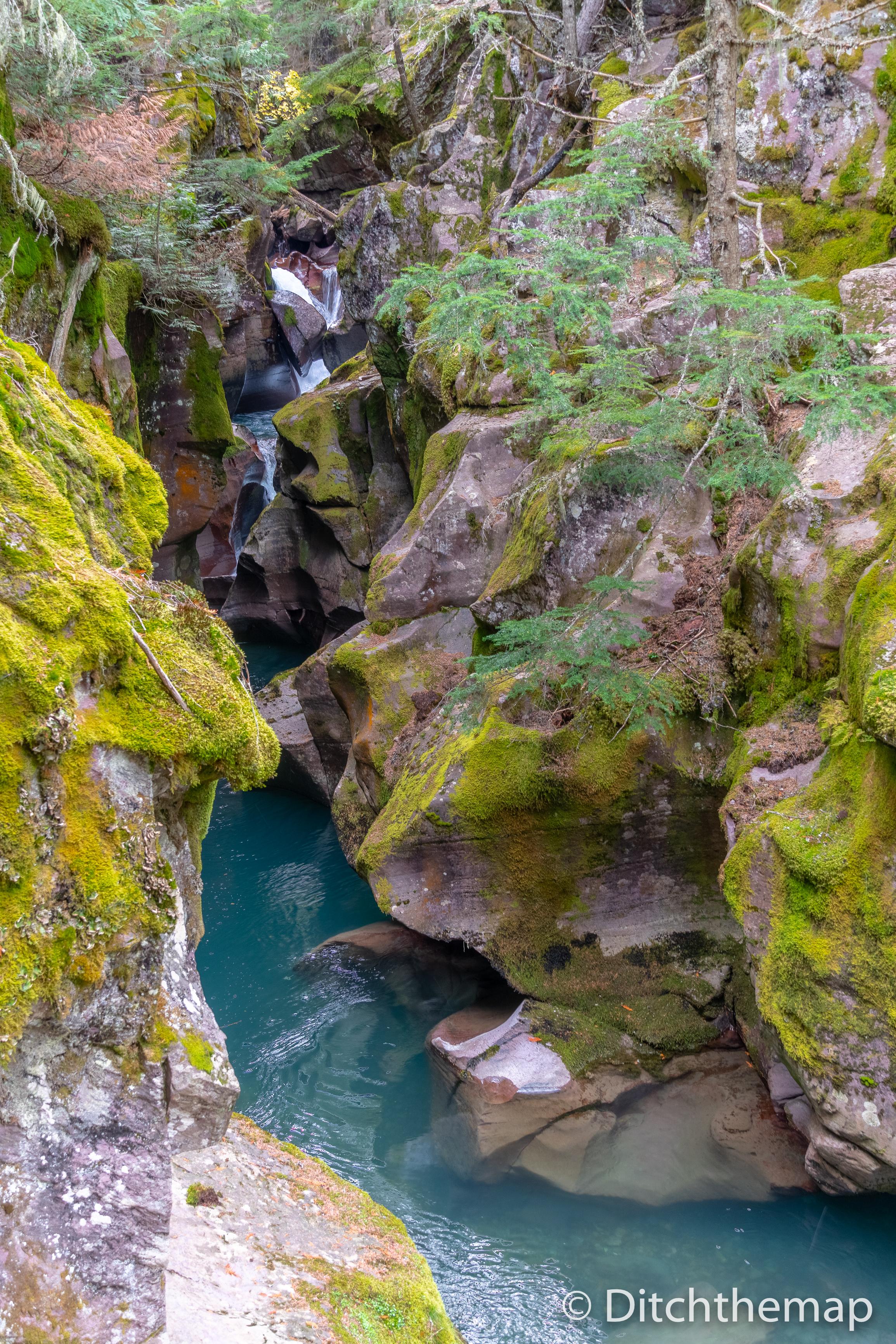 Landscapes in Glacier National Park