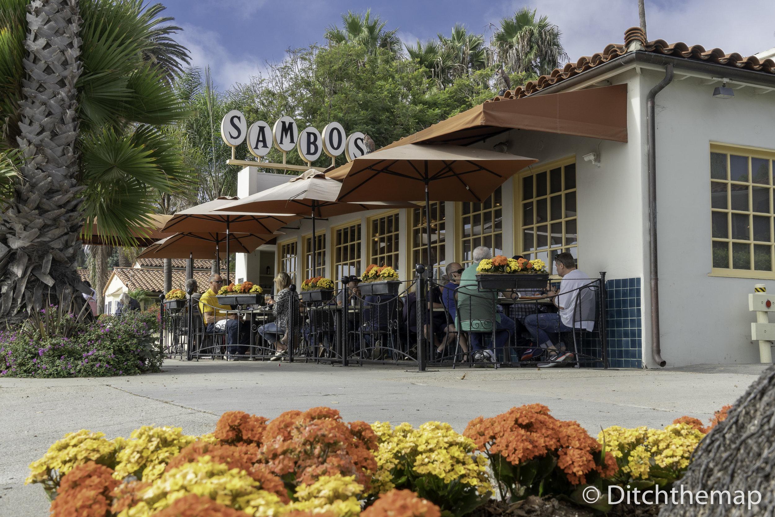 Santa Barbara Restaurant on Beach