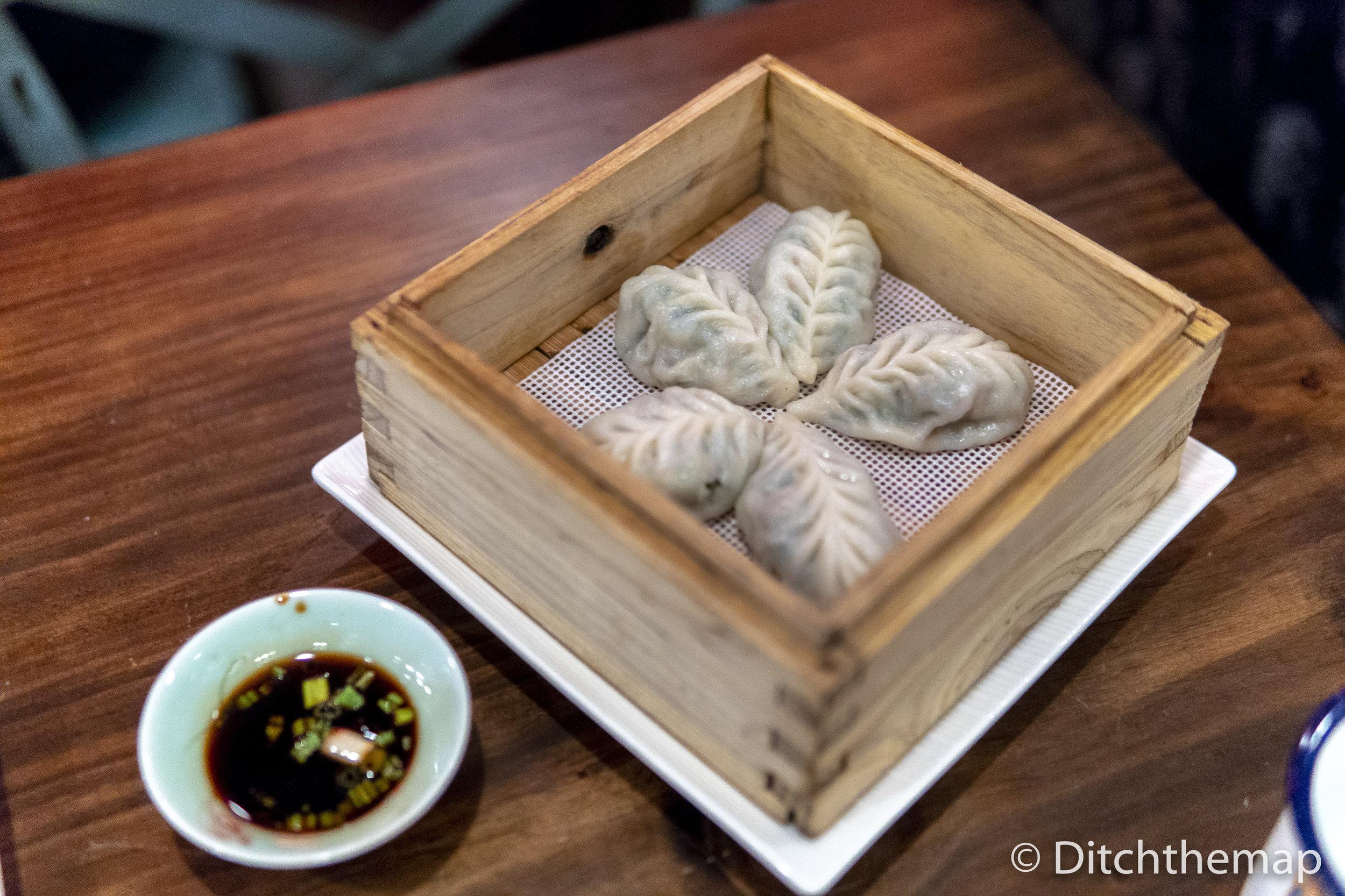 Vegetable Dumplings (Steamed)