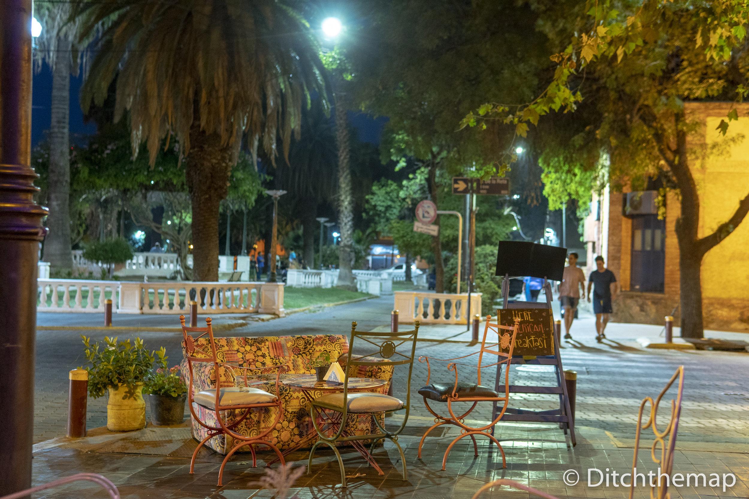 Beirut Cafe in Mendoza, Argentina