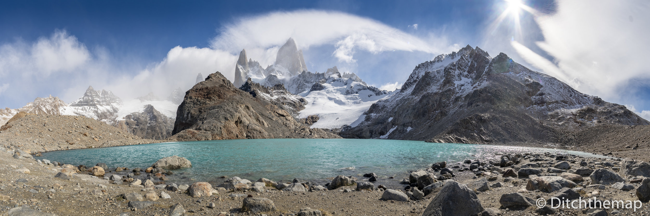 Mt. Fitz Roy Panoramic View