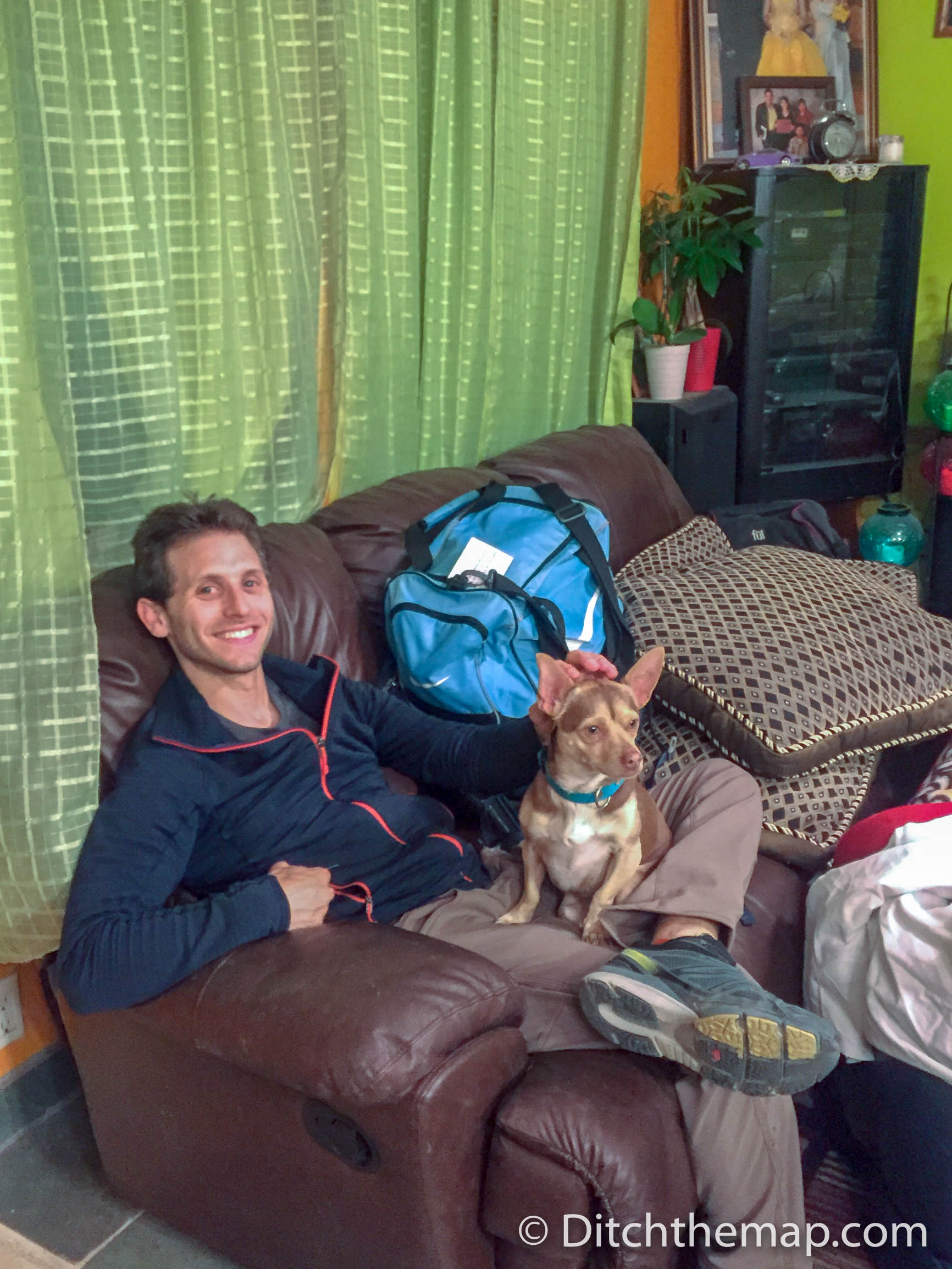 Couchsurfing in Idaho with Niko the chihuahua