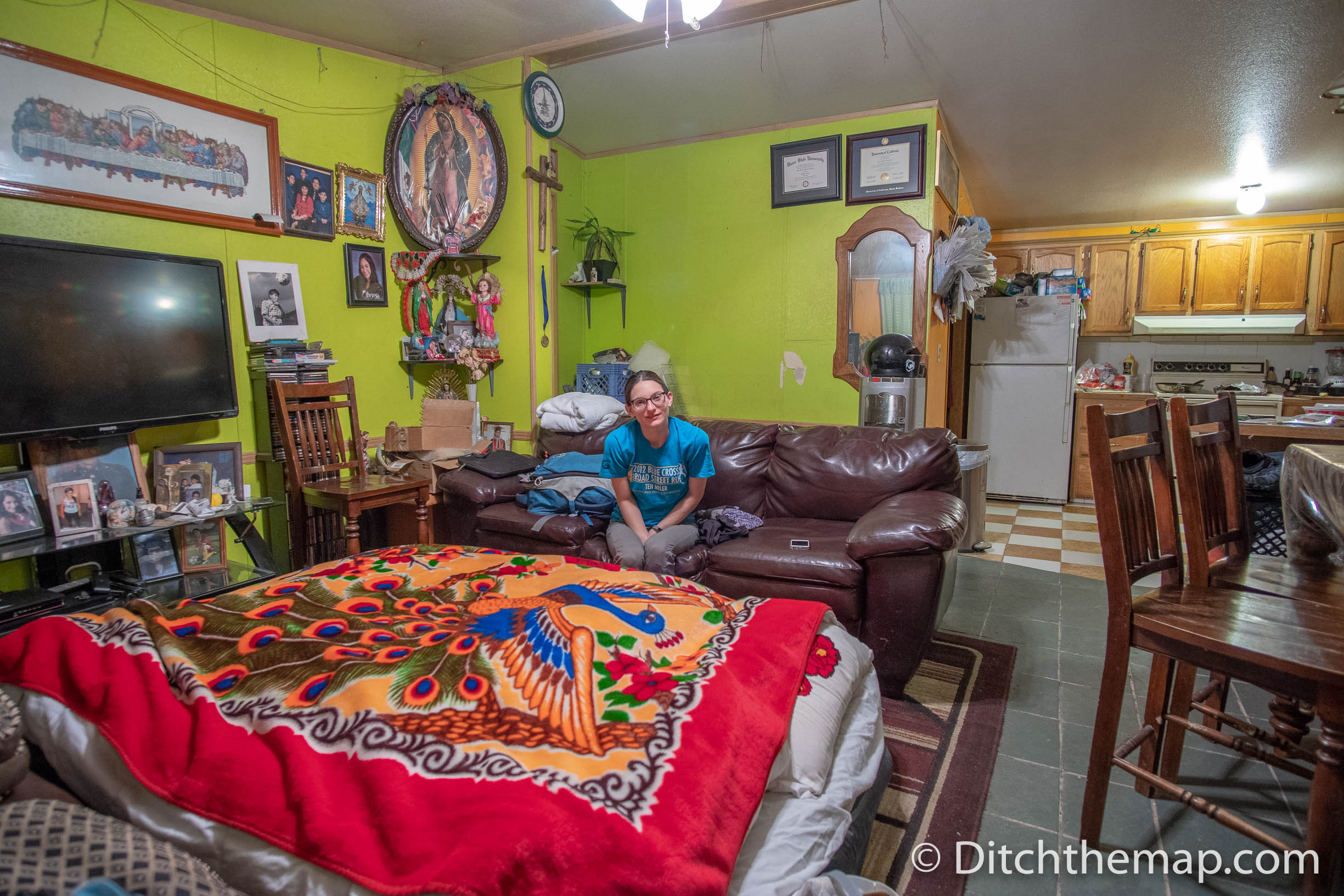Couchsurfing in Idaho