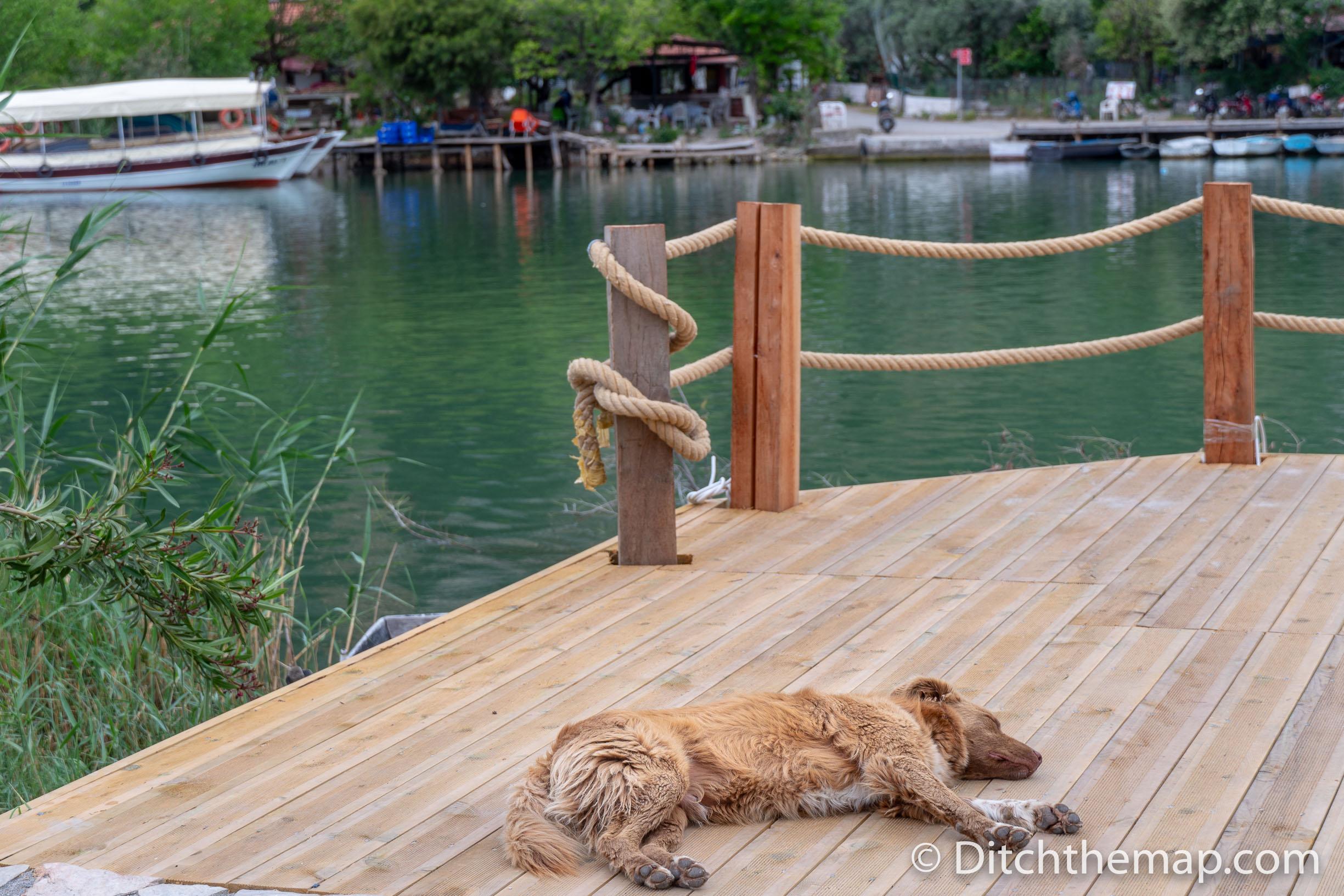 Practicing the Leisure Lifestyle in Dalyan, Turkey