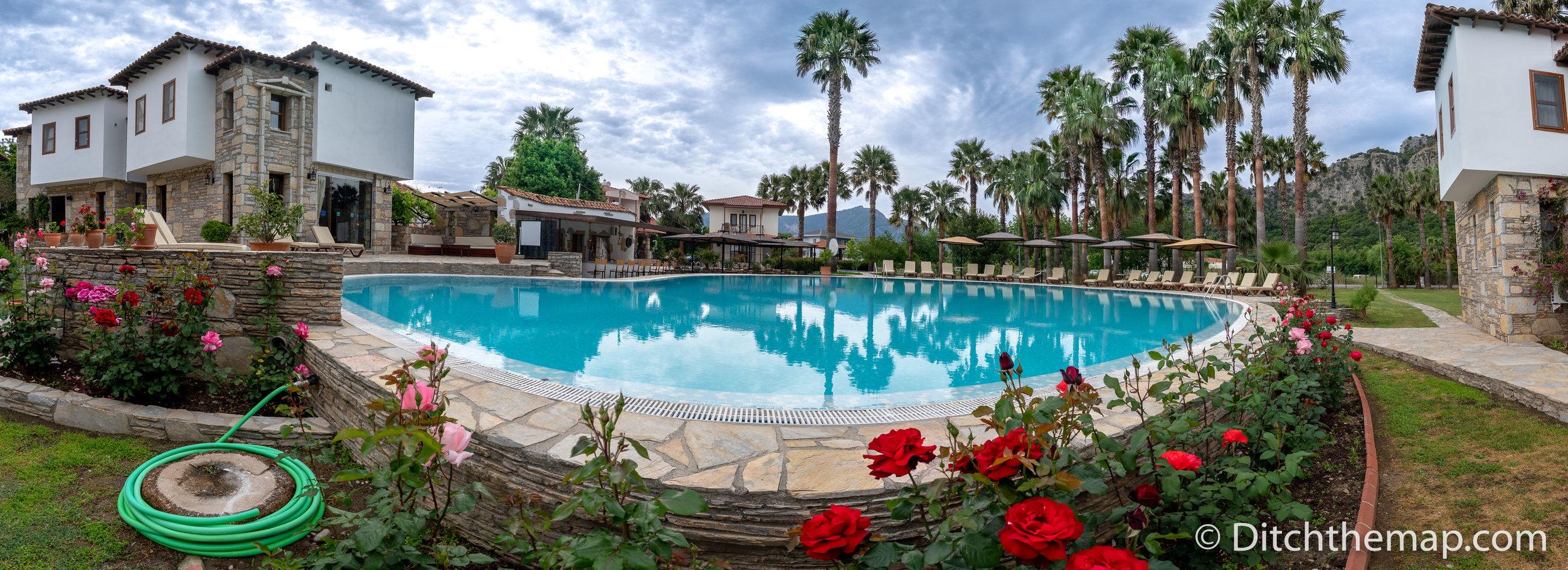 Osmanli Hani Apart Hotel  Our Beautiful Resort in Dalyan, Turkey