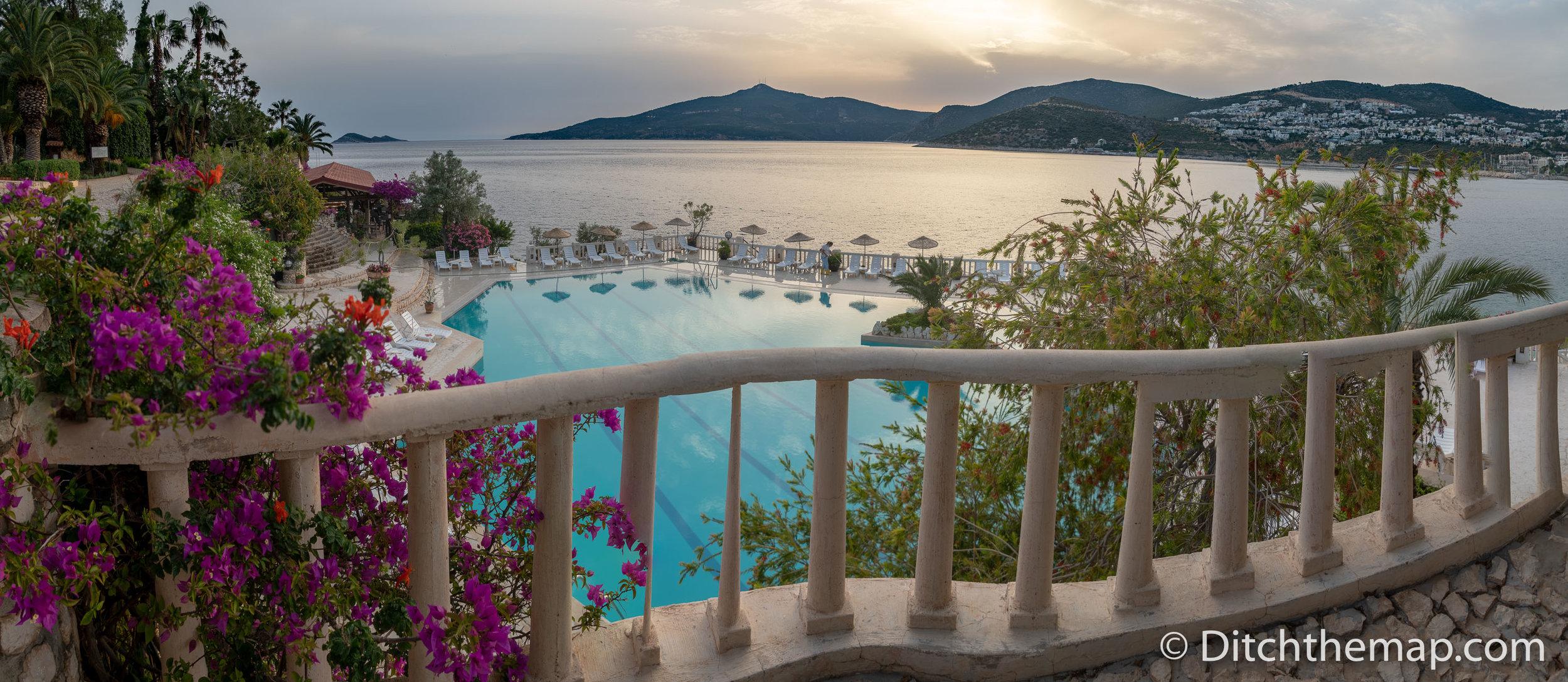 Views From Our Resort in Kalkan, Turkey