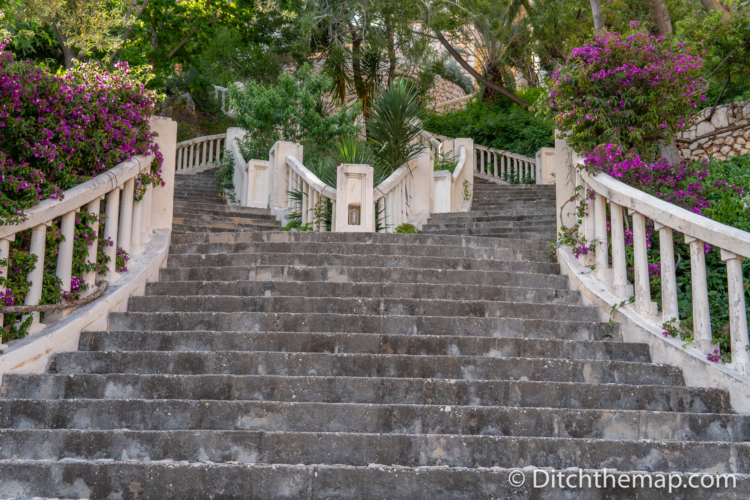 Grand Staircase in Kalkan, Turkey