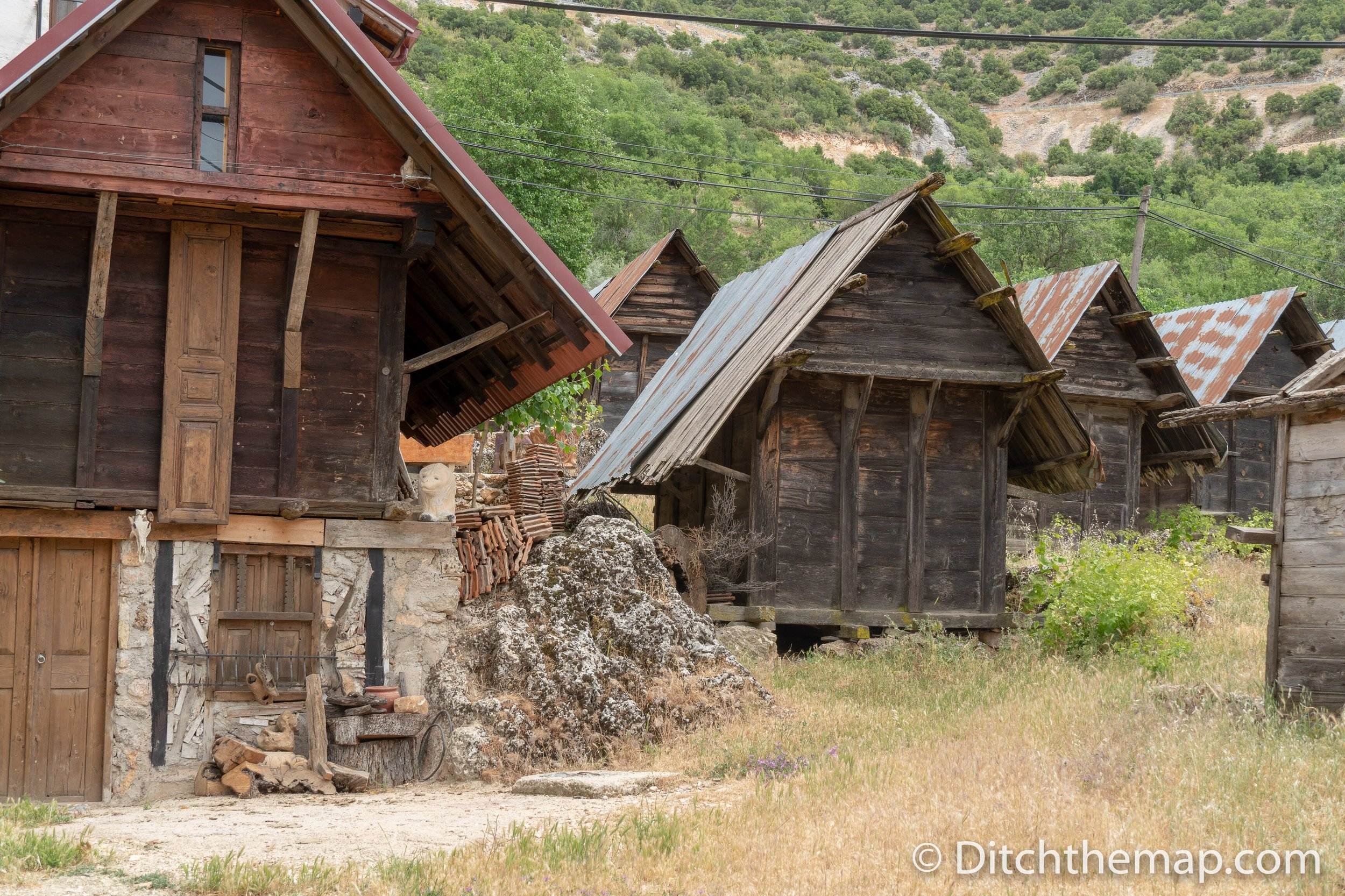 Grain storage in Gökçeören