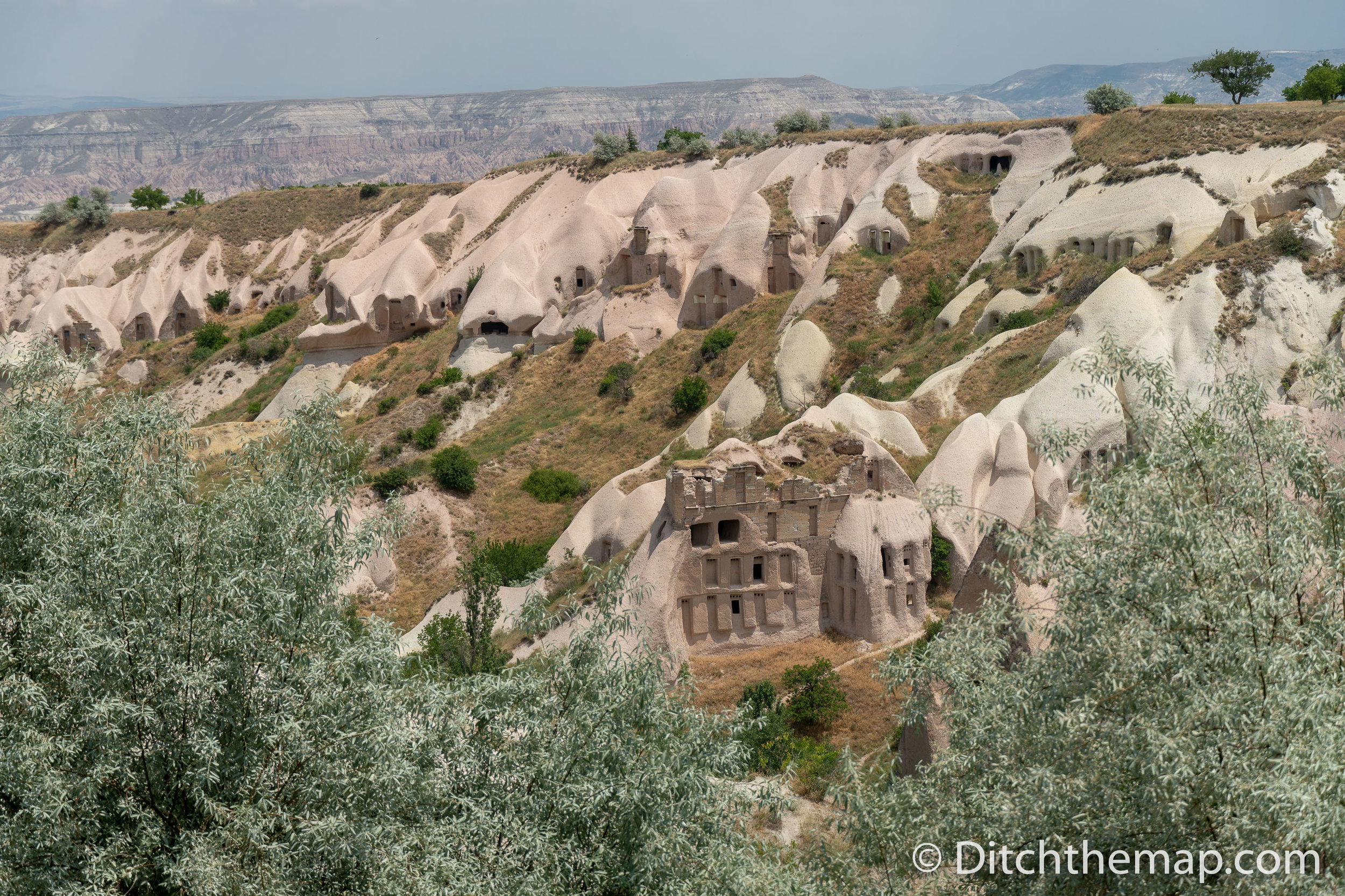 Caves in Pidgeon Valley Cappadocia