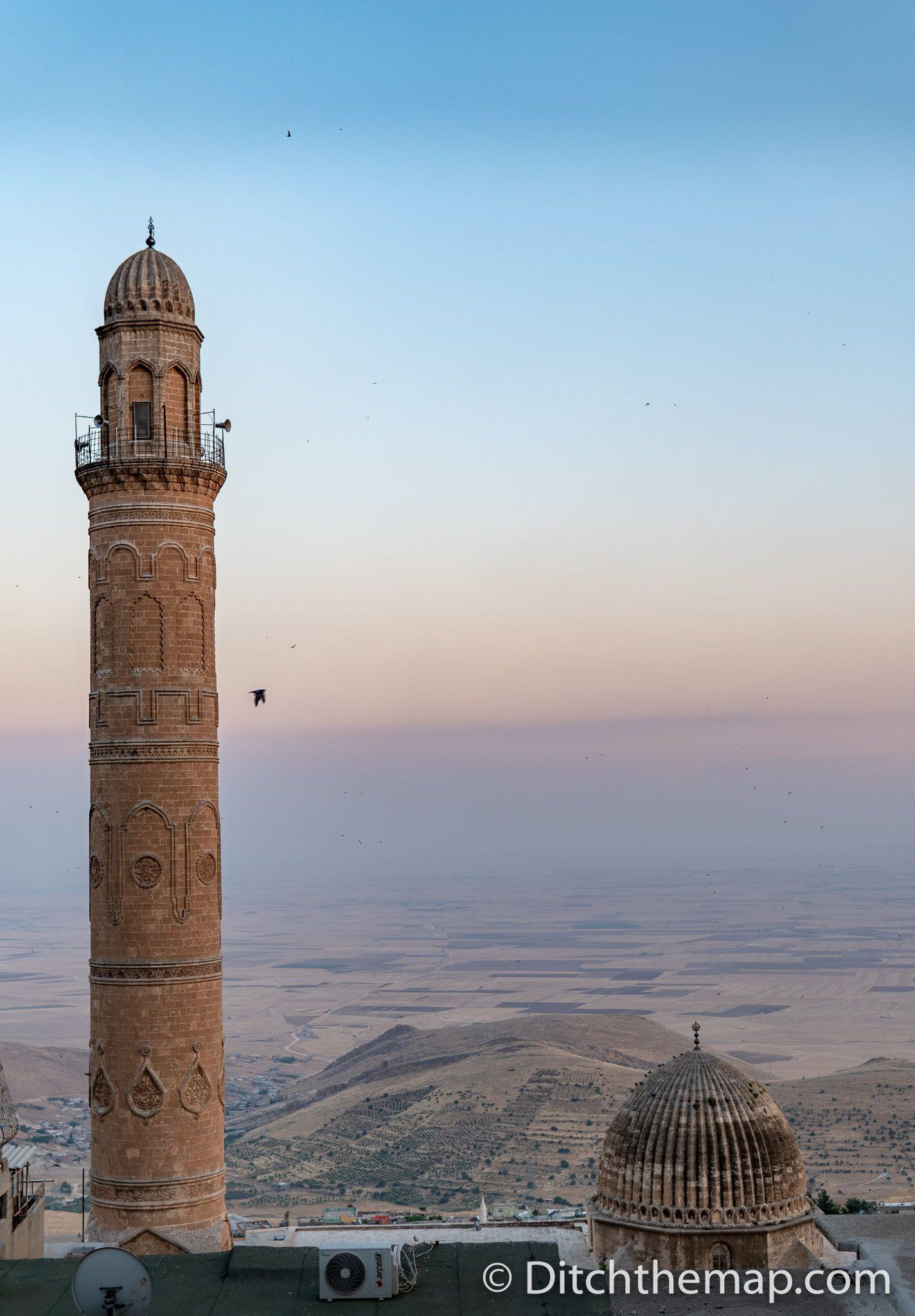 Overlooking the Mesopotamian plains in Mardin, Turkey