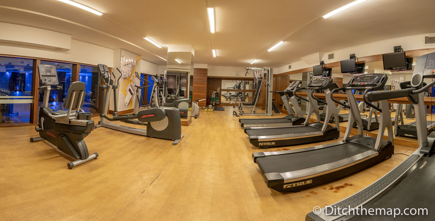Exercise Room in Tugcan Hotel Gaziantep, Turkey