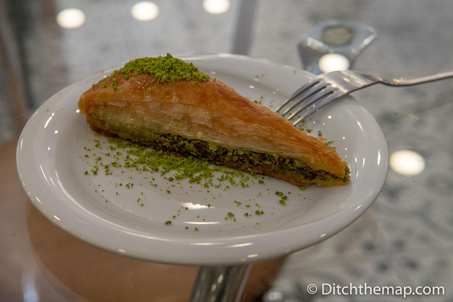 Sharing a Slice of Baklava