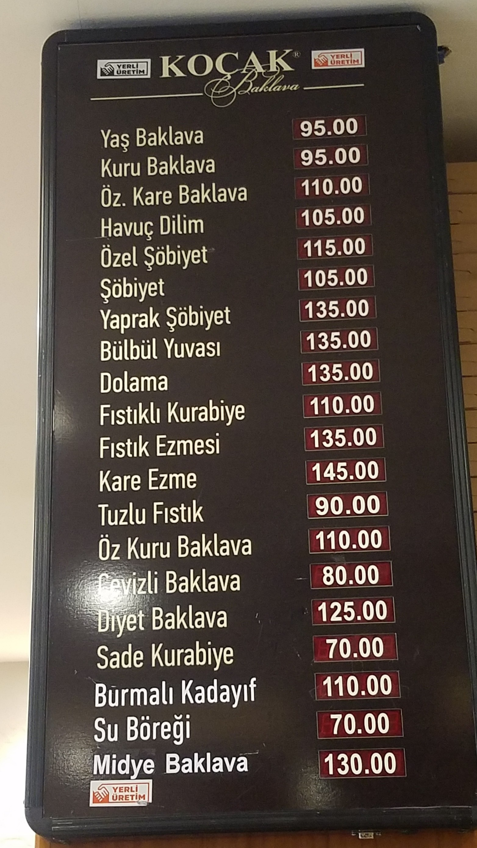 All the Types of Baklava for Sale