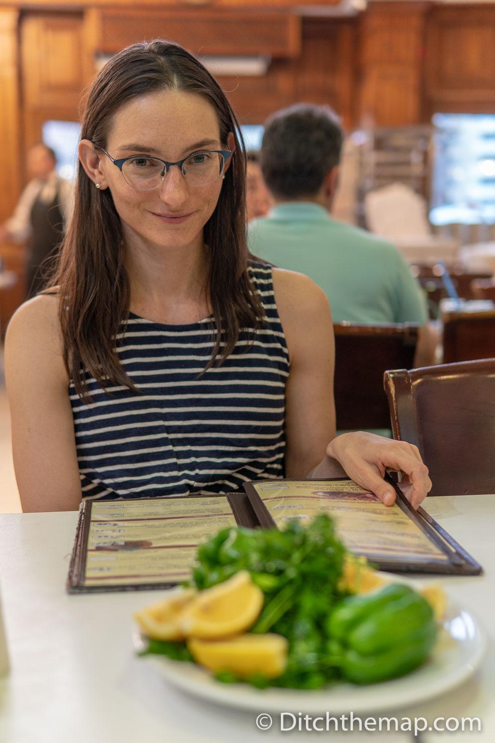 Ordering Food at Dinner