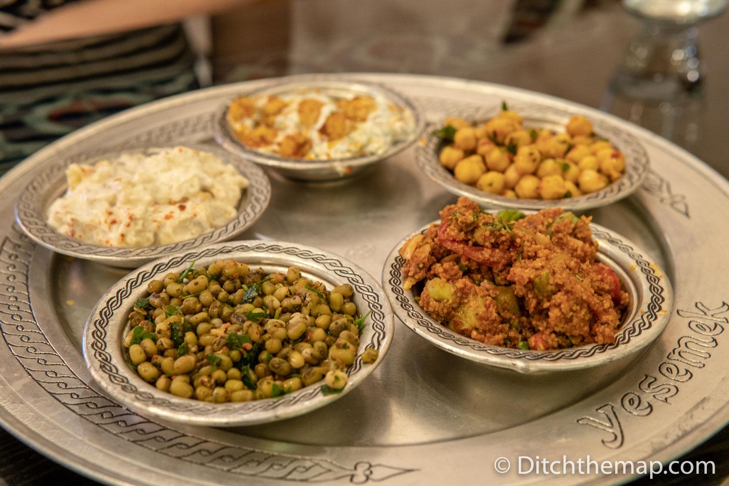 Mezze Plate Variety